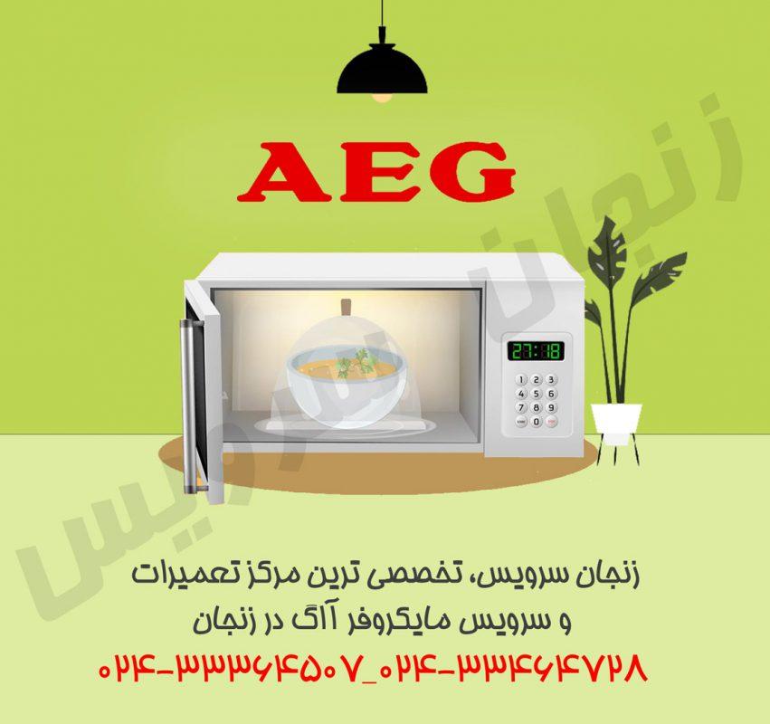 تعمیرات مایکروفر آاگ در زنجان