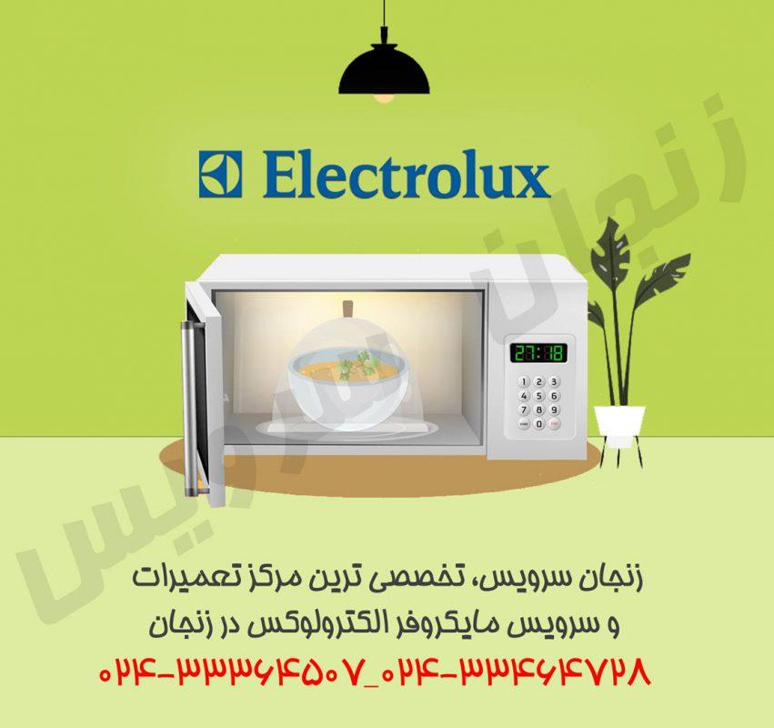 تعمیرات مایکروفر الکترولوکس در زنجان
