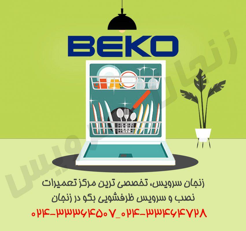 تعمیرات ظرفشویی بکو در زنجان