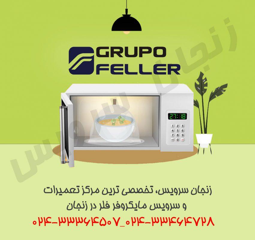 تعمیرات مایکروفر فلر در زنجان