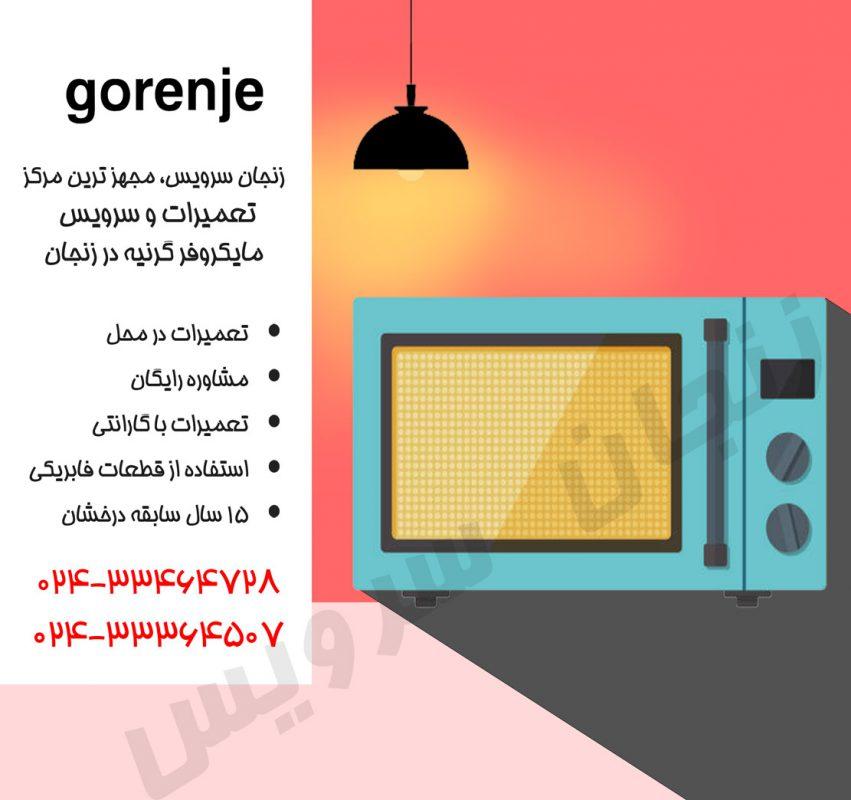 تعمیرات مایکروفر گرنیه در زنجان